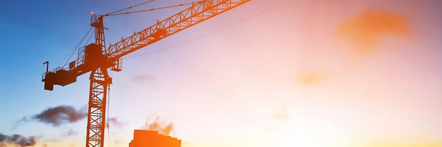 Image of crane for the Sage 300 CRE Landing Page