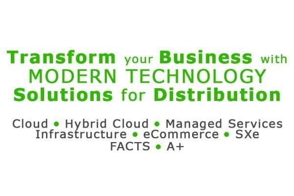Modern Technology Solutions for Distribution (No Infor or Aktion Logo)