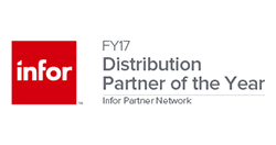 Infor Distribution Partner of the Year 2017 - Small with Padding