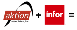 Aktion and Infor Logo (Only)